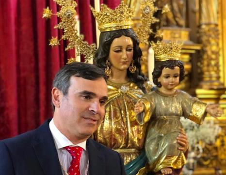 David Rivera pregonero de la Semana Santa de Alcalá 2020