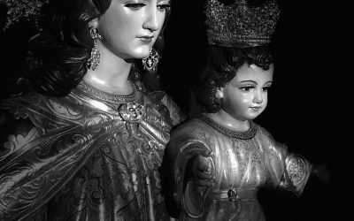 Comenzó la novena a María Auxiliadora