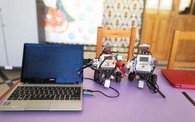 Presentamos los avances de nuestros alumnos en robótica