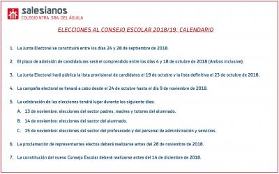 Elecciones al Consejo Escolar