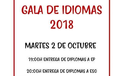 VI Gala de Idiomas