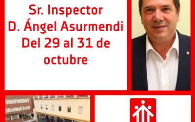 Visita canónica del Sr. Inspector D. Ángel Asurmendi
