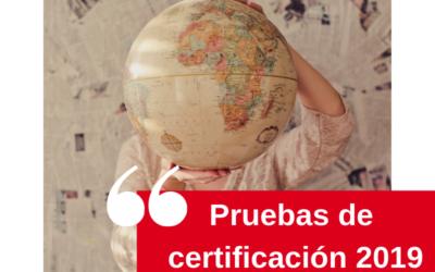 Exámenes de certificación