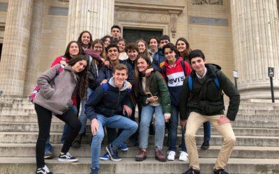 Magnífica acogida y primeros pasos por París