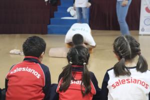 El Colegio Salesiano de Alcalá de Guadaíra protege a su escuela y entorno a través de la formación en primeros auxilios.
